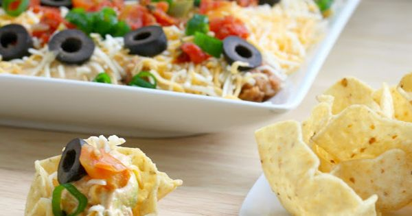 Taco Dip Recipe Food Dinner