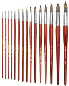 Save On Discount Utrecht Deluxe Watercolor Paint Art Brush Set 4