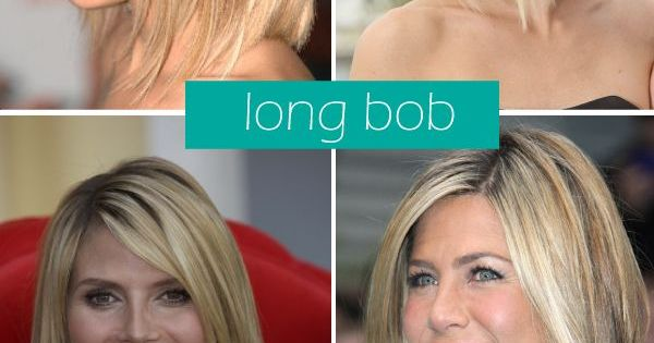 Long bob cut