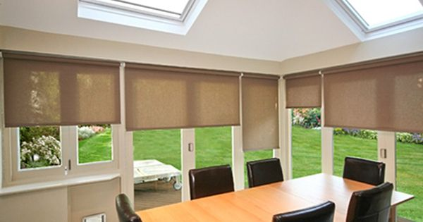 Roller Blinds For Bifold Doors Offer Maximum Privacy And Protection From The Intensity Of The Sun