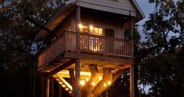 As a kid I always wanted a tree house. This one is