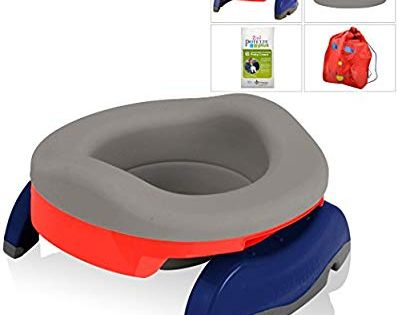 Amazon Com Kalencom Potette Potty Value Bundle Potette Plus 2 In 1 Travel Potty Home Use Collapsible Reusable Potty Travel Potty Toddler Potty Seat Potty