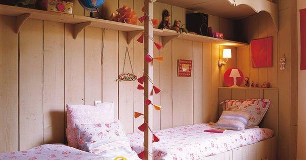 Samen met je zusje op een kamer maar niet stapelen deze keer meisjes slaapkamer goodnight - Deco meisjes slaapkamer ...