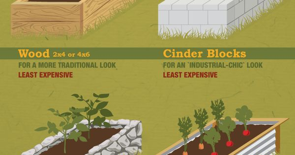 Learn how to build raised gardening beds to save your vegetables!