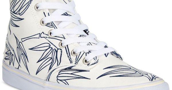 Vans Womens Camden Hi Bamboo Top Sneakers Shoes