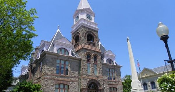 Gloucester County Courthouse Woodbury New Jersey With Images Roofing Roof Architecture Modern Roofing