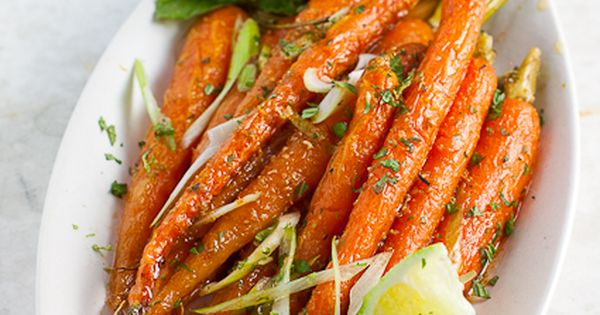 Roasted Baby Carrots with Lime & Mixed Spices! It can be really