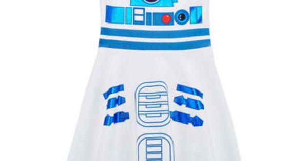 Disney Store R2-D2 Tutu Dress for Tweens Star Wars Costume Force Awakens Droid