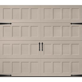 Pella Carriage House Series 108 In X 84 In Insulated Sandtone Single G Single Garage Door Garage Doors Garage Door Windows