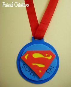 Como Fazer Lembrancinha Dia Dos Pais Medalha Em Eva Como Fazer