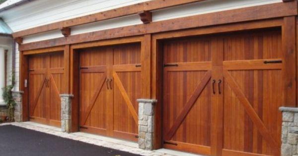 Hmmm Wonder If This Can Be Made With Composite Wood Garage Door Styles Garage Door Design Garage Doors
