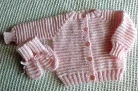 Star Stitch Raglan Baby Jacket by Stitch Niche - YouTube KNITTING Pintere...