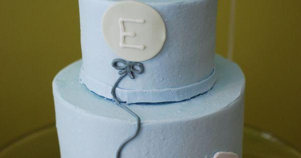 Elephant cake boys 1st birthday. Perfect!!
