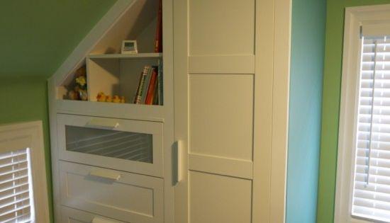 Armoire encastr e escalier pinterest rangements - Armoire escalier ikea ...