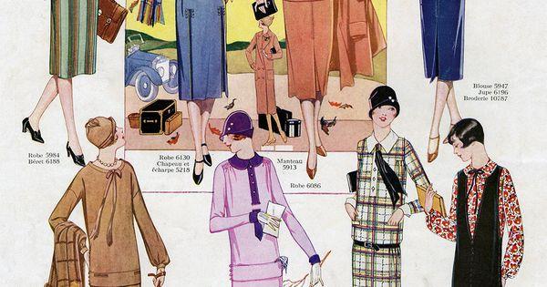 Myvintagevogue tumblr november 1925 le miroir des modes for Miroir des modes prints