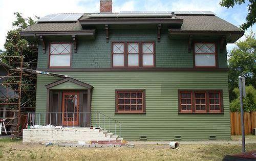 Craftsman Exterior Colors, Exterior House Colors, Siding Colors, Exterior  Houses, Craftsman Houses, Exterior Paint, Exterior Design, Bungalow Exterior,  ...