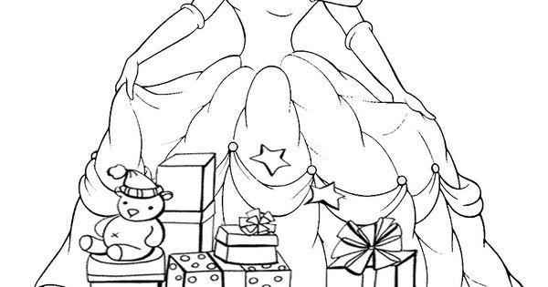 Dibujos-para-colorear-disney-princess-princesas-coloring