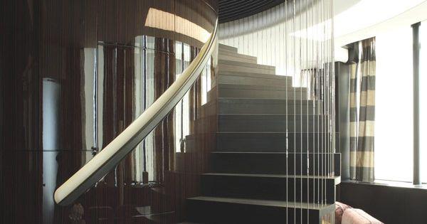 Interior design curved staircase pinterest house design i