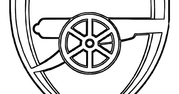 World #FIFA Team #Coloring_Page Arsenal Of England You Can