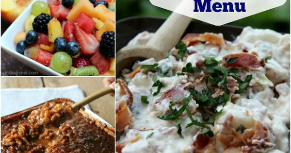 memorial day cookout food ideas