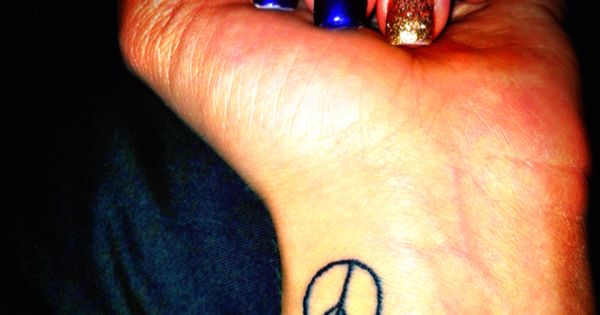 Peace and Love Tattoo