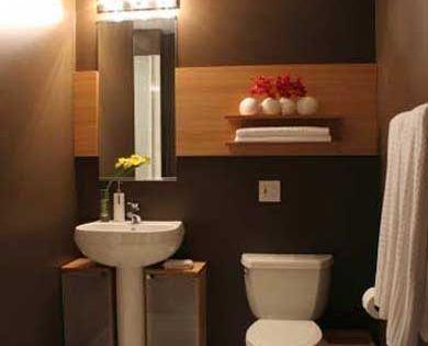 60 fotos e ideas sobre c mo decorar un cuarto de ba o o - Como disenar un bano moderno ...