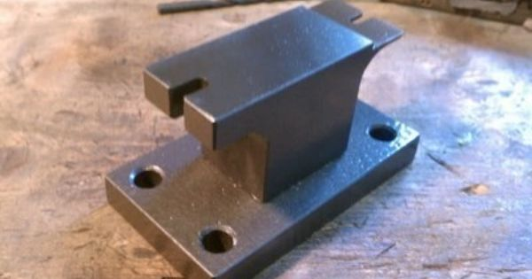 Custom Made Knife Making Cutlers Steady Rest Stiddy Anvil