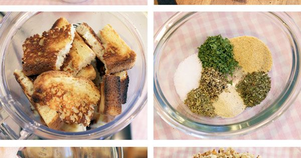 homemade gluten free bread crumbs