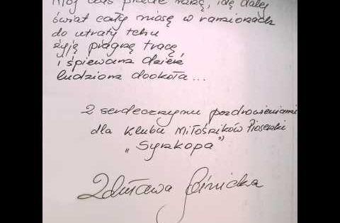 Zdzislawa Sosnicka Byl Taki Ktos Youtube Polonia Y Musica