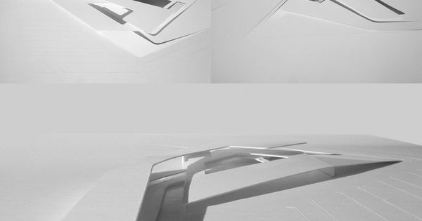 Architectural Bas Relief Architect Zaha Hadid Project
