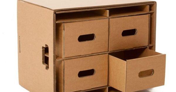 Caixa organizadora com gavetas arte pinterest caixa for Meuble zanon