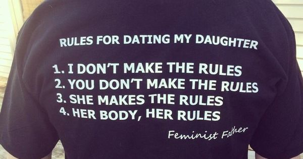 This is wonderful: | This Feminist Father Has The Best T-Shirt You'll