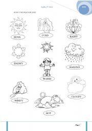 41+ Premium weather worksheets for 1st grade information