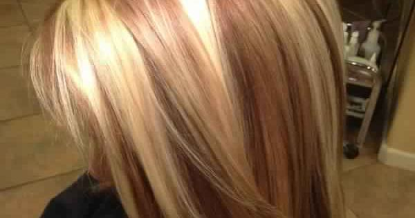Beautiful Golden Blonde Hair With Reddish Caramel Or