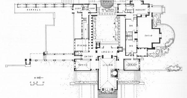 The hollyhock house plan - House plans