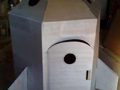 How To Build A Cardboard Rocket Ship Naves Espaciales