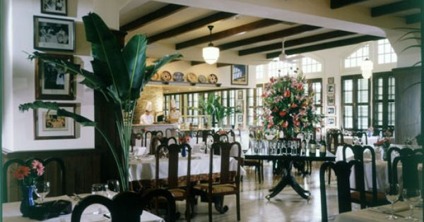 Raffles Hotel Singapore Long Bar Steakhouse British Colonial Style British West Indies Style Colonial Style