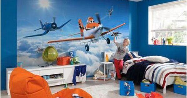 Disney Fotobehang Planes Above The Cloud Fotobehang Peuterkamers Disney Slaapkamers