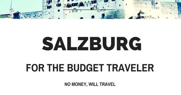 Salzburg for the Budget Traveler