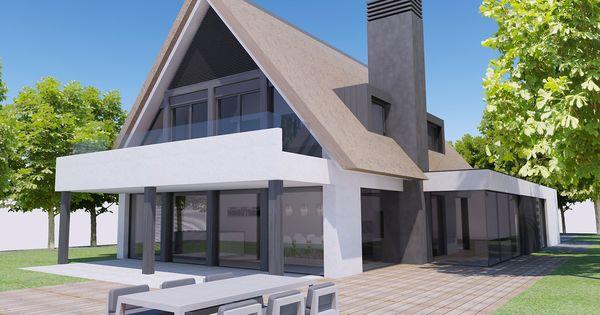 De ramen boven bij deze woning spreken ons aan wellicht met eenzelfde soort omlijsting van - Zolder ontwikkeling ...