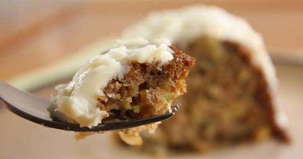 Zucchini Recipes - Pineapple Zucchini Cake