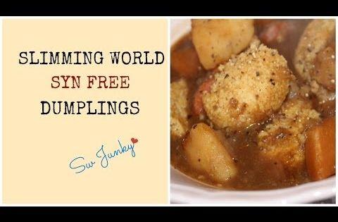 Slimming World Syn Free Dumplings Recipe Youtube Slimming World Faves Mainly Vegetarian