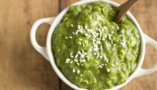 Green Monster Vegan Overnight Oats | Recipe | Vegan ...