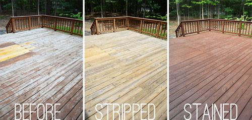How To Stain And Seal A Deck Staining Deck Diy Deck
