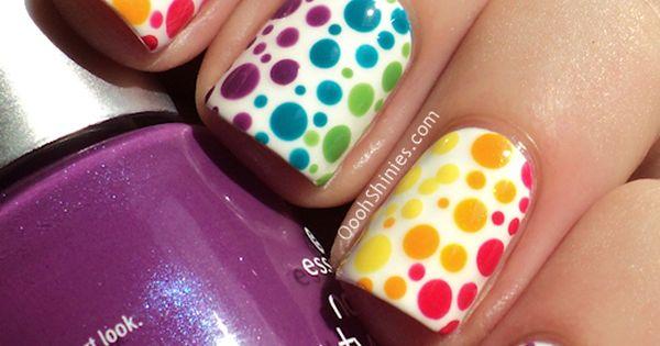 Teen nail design.