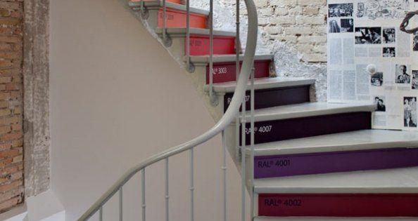 D corer son escalier nos plus belles inspirations contre marche marche e - Decorer son escalier ...