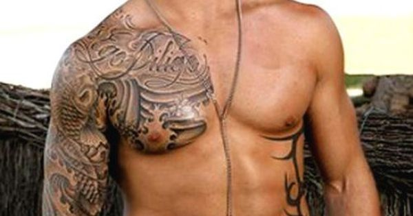 Australian model and rugby league player Daniel Conn