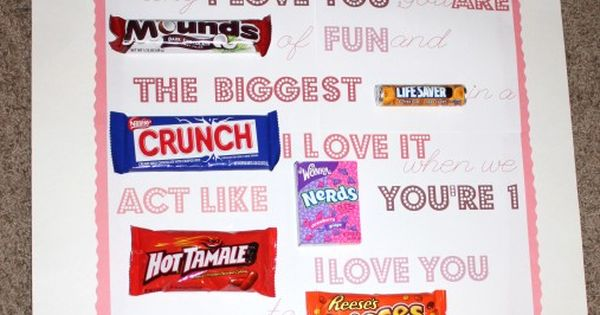 Candy Gram! Cute idea!