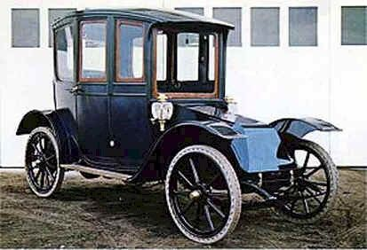 1911 Hupp Yeats Electric Sedan Hupp Yeats Electric Car Co Detroit