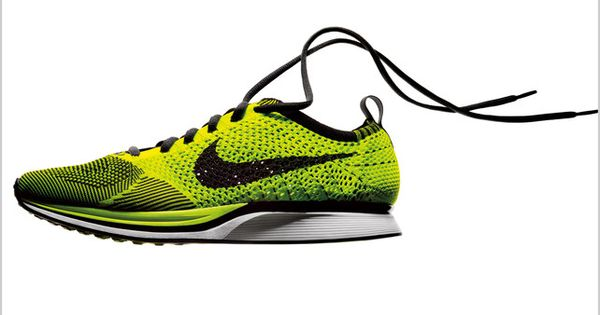 Nike's Flyknit Racer is a knitted yarn sneaker superlight and superfly. Knitting's